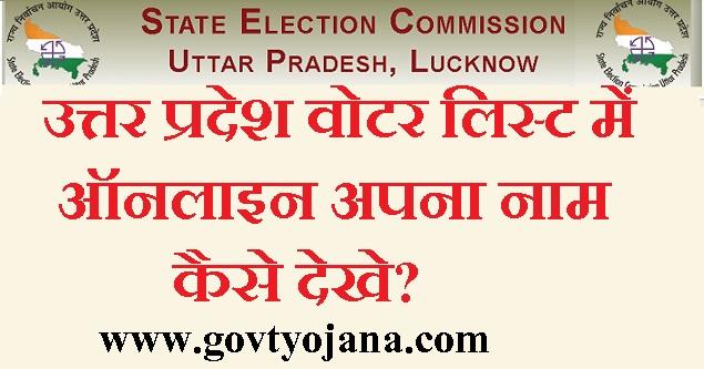 उत्तर प्रदेश वोटर लिस्ट में ऑनलाइन अपना नाम कैसे देखे