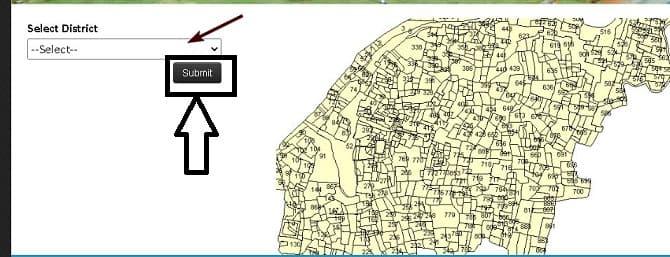उड़ीसा भू नक्शा ऑनलाइन कैसे देखे